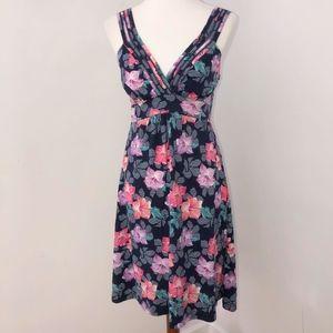 Tommy Bahama sundress women's size M floral V neck